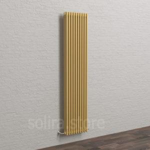 Solira Трубчатый дизайн радиатор 3200, цвет Бежевый Муар (1М103 текстурный)