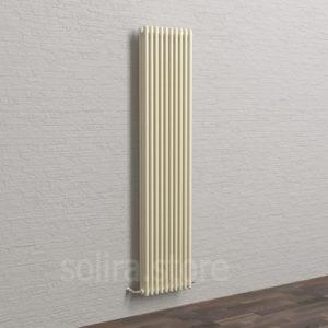 Solira Трубчатый дизайн радиатор 3200, цвет Жемчужный Белый (RAL1013 глянец)