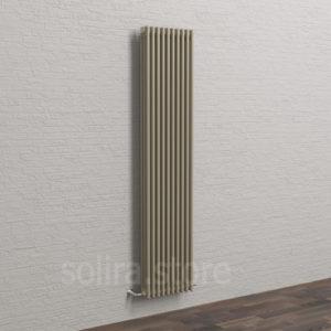 Solira Трубчатый дизайн радиатор 3200, цвет Бежевый Мокко (RAL1035 металлик)
