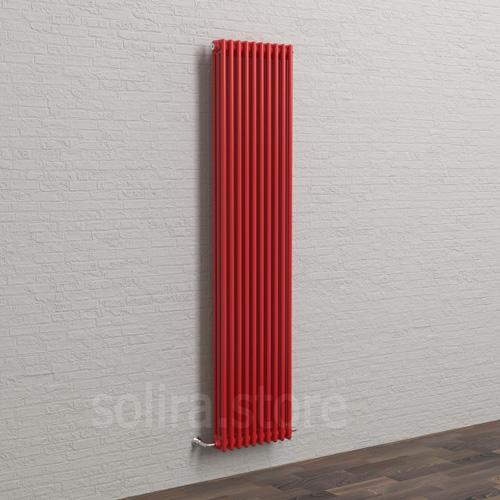 Solira Трубчатый дизайн радиатор 3200, цвет Красный Феррари (RAL3020 глянец)