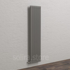 Solira Трубчатый дизайн радиатор 3200, цвет Серебристо-Серый (RAL9007 матовый)