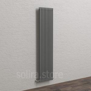 Solira Трубчатый дизайн радиатор 3200, цвет Стальной Петербург (RAL9023 глянец)